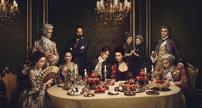 Capa da segunda temporada de outlander