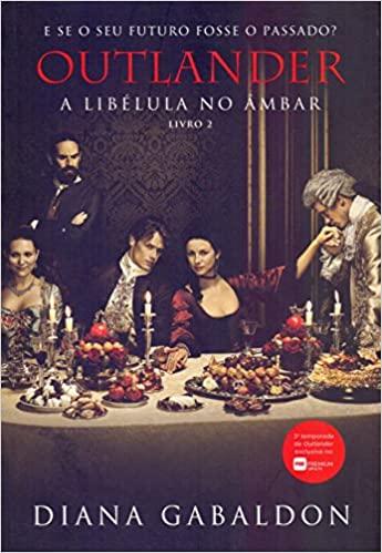 Capa do livro 2 de Outlander. Equivalente a segunda temporada de outlander