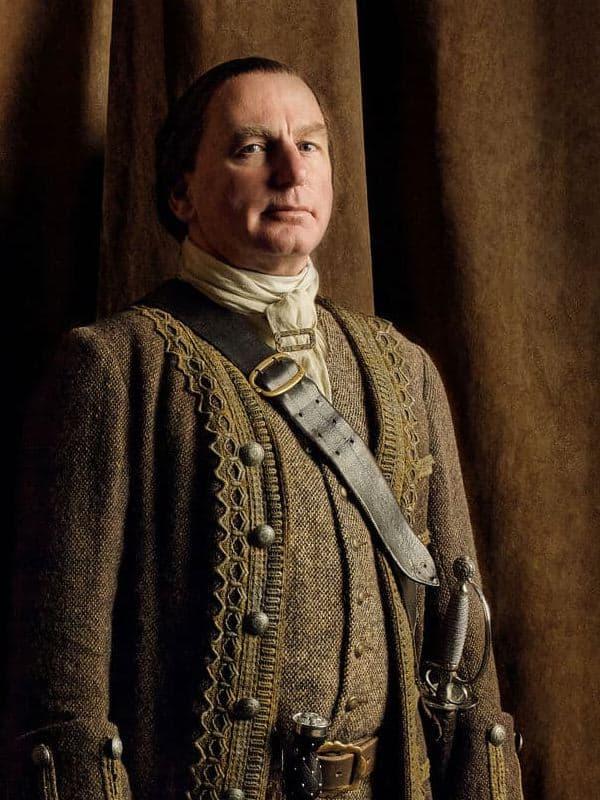 Colum Mackenzie do Outlander
