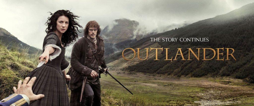 Capa da primeira temporada de outlander no netflix